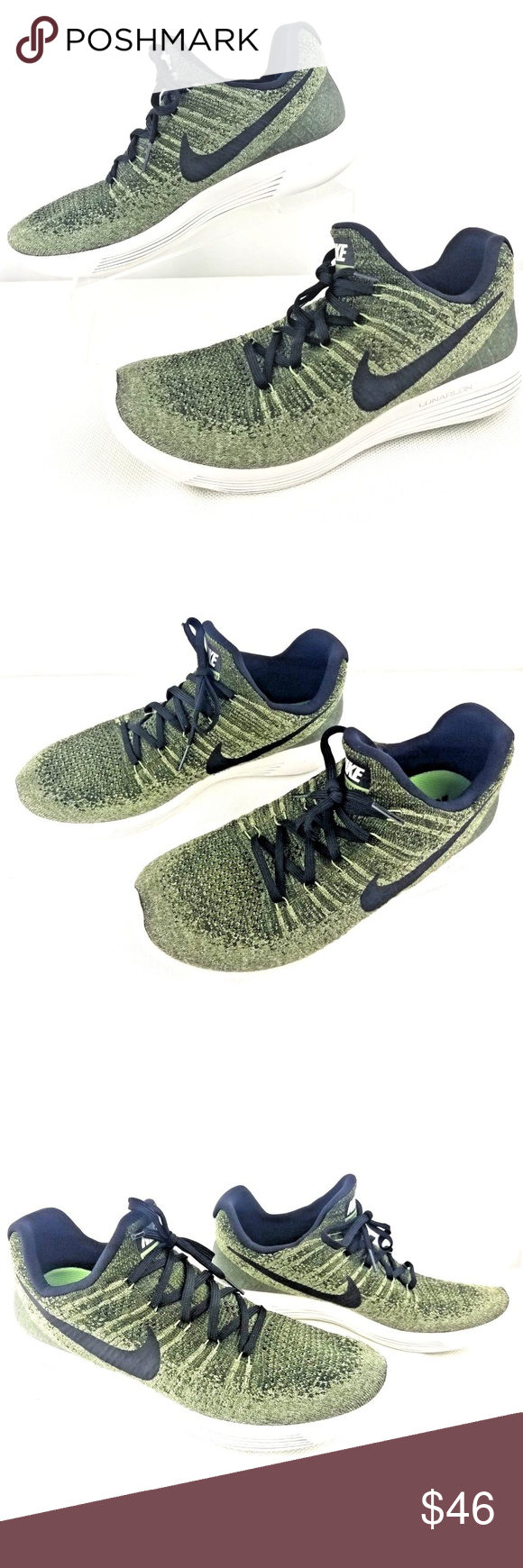 591619c76319 NIKE Men s Lunarepic Low Flyknit Running Shoes 10 Nike Lunarepic Low  Flyknit 2 Running Shoes Color