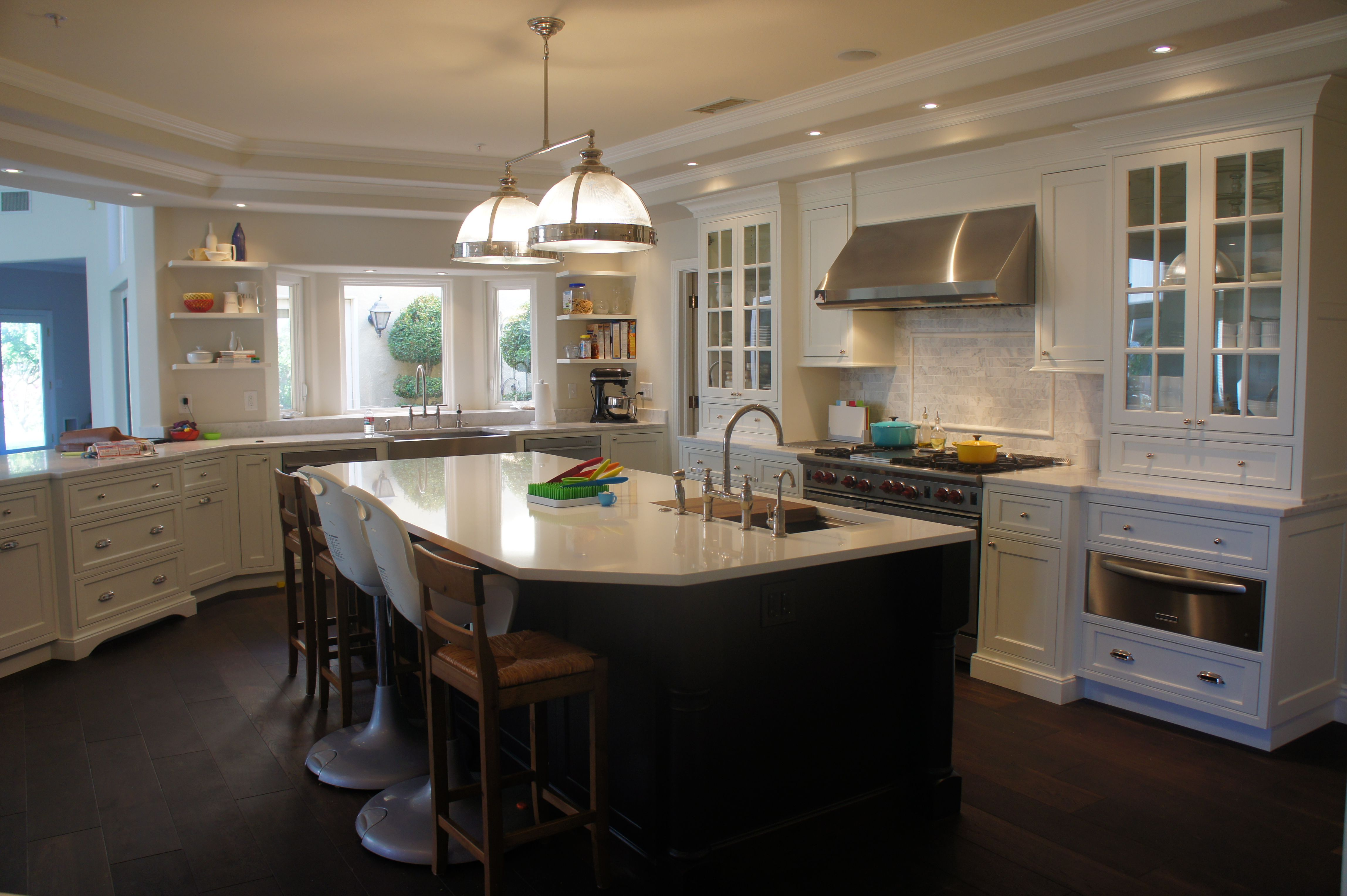 Soft White Shiloh Beaded Inset Cabinetry in 2020 ...