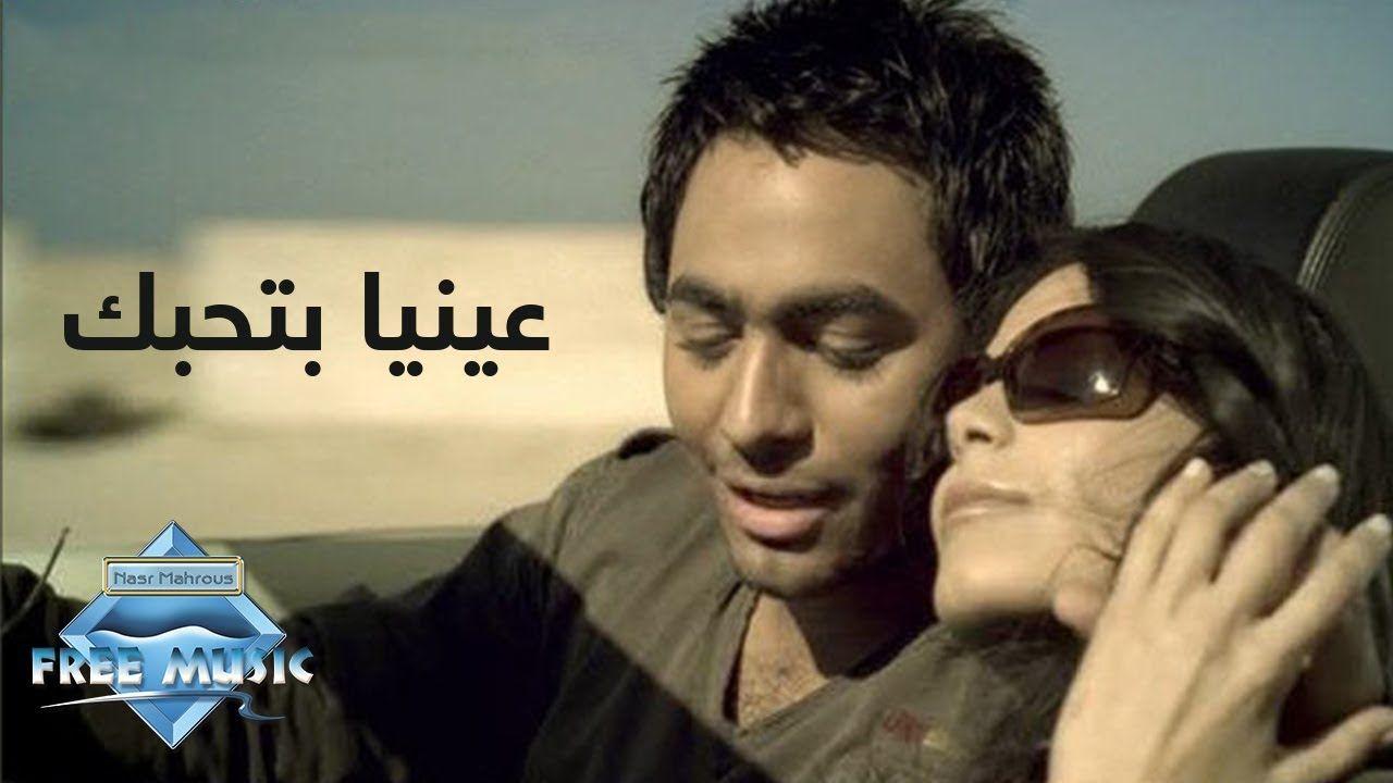Tamer Hosny 3enaya Bet7ebbak Music Video تامر حسني عينيا بتحبك فيديو كليب Youtube Cute Cats My Love Love You