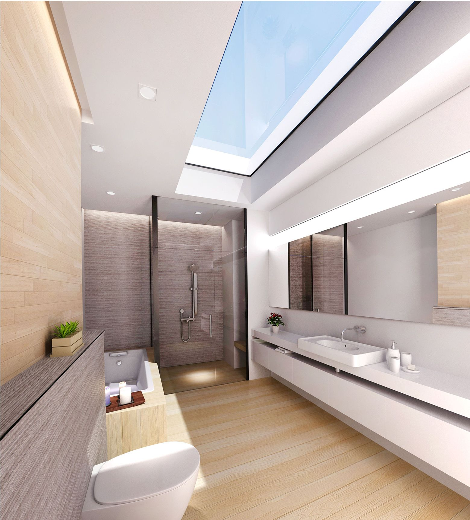 modern sky light bathroom design designed by swiss bureau modern sky light bathroom design designed by swiss bureau interior design llc best interior
