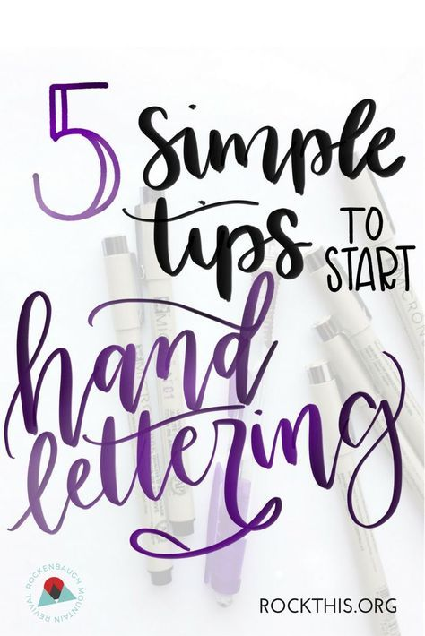 If Youve Ever Wanted To Learn Hand Lettering Check Out These Easy Follow Tips Get You Started It Even Includes Practice Sheets