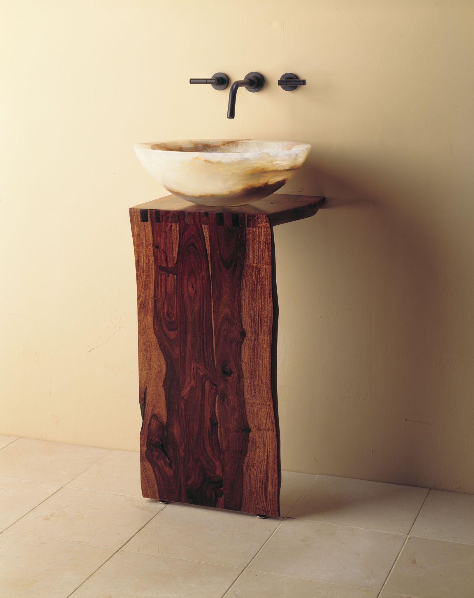 Wood L Slab Pedestal U2013 Stone Forest