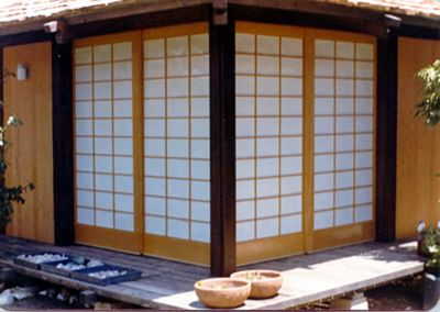 Perfect Shoji On Outdoor Porch