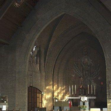 Interieur antonius van padua van Assisie ,de vrank.