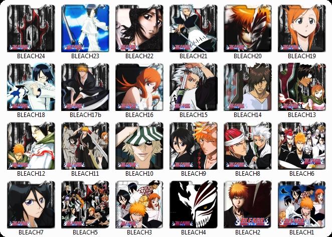 Download kumpulan Icon Pack Folder Anime