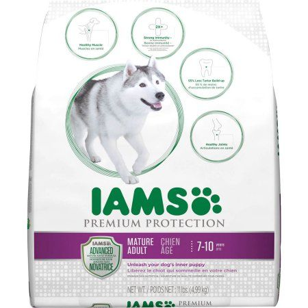 Iams Dog Senior Premium Protect 12 1lb Dry Dog Food Adult Dogs