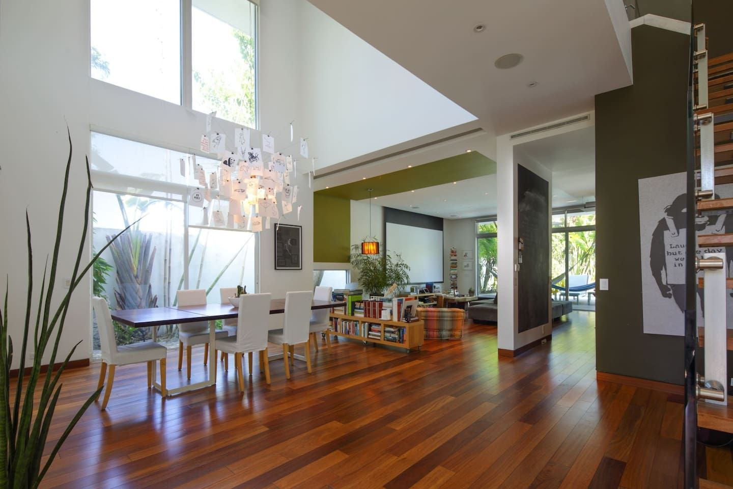 Modern spacious Miami home with pool fenced yard, close to