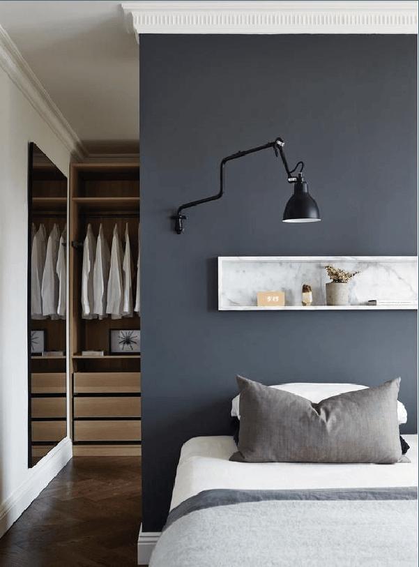 Chambre bleue + marbre dans le Top 5 des tendances déco à ...