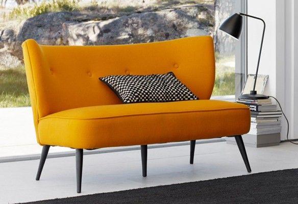 la banquette fifties ou petits canap s r tro banquette franck et la redoute. Black Bedroom Furniture Sets. Home Design Ideas