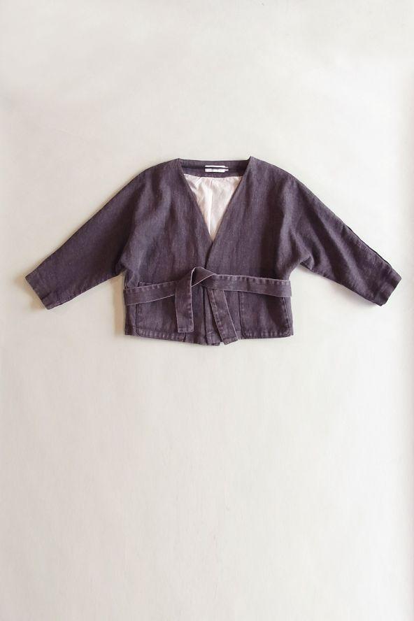 Sisii wardrobe: Samuji _ LILJA JACKET / AUBERGINE [Rakuten]