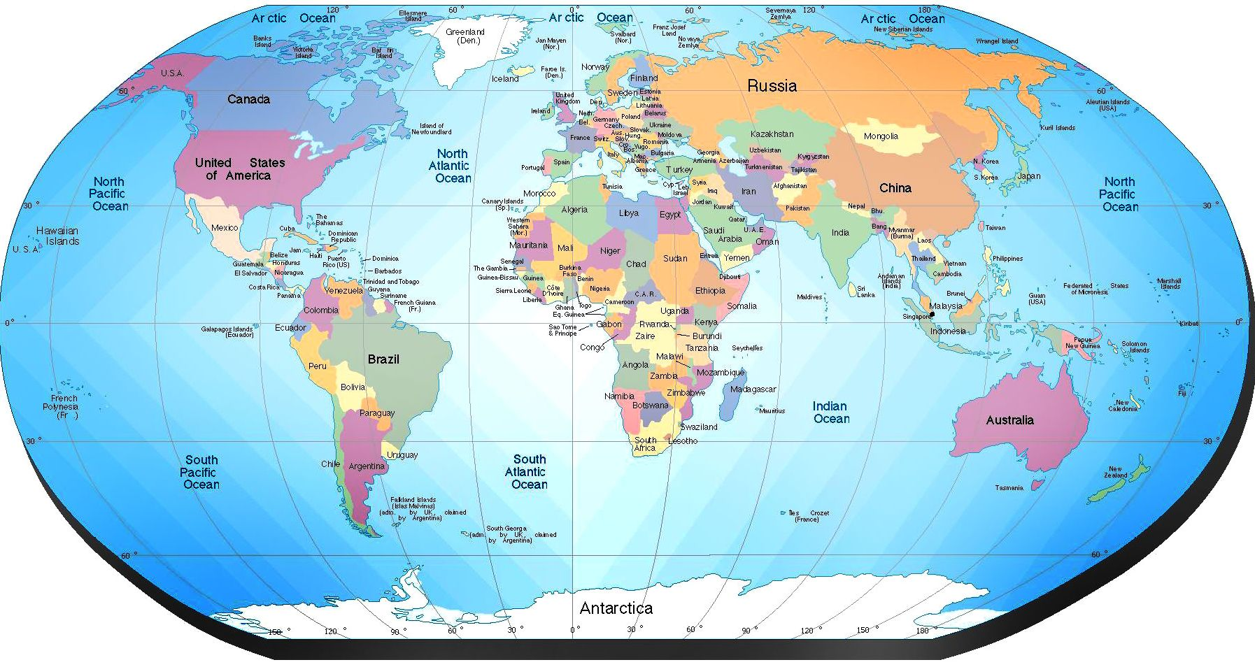 Mapa Del Mundo Paises Hd.Tierra 3 Mapa Politico Del Mundo Mapa Paises Y Mapas Del