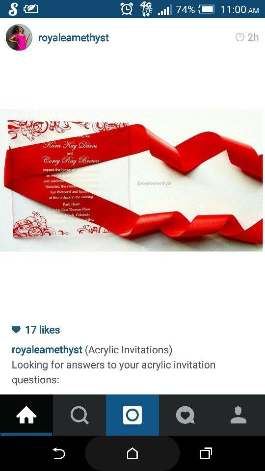 Perfect for invitations