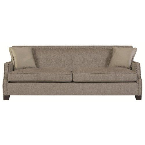Stupendous Bernhardt Interiors Franco High End Transitional Sofa Pdpeps Interior Chair Design Pdpepsorg