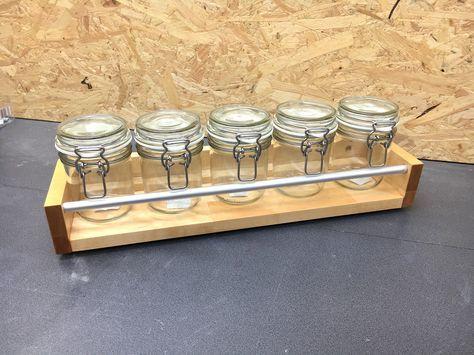 Einfaches Küchenregal Bauanleitung zum selber bauen Küche Pinterest - küchenregal selber bauen