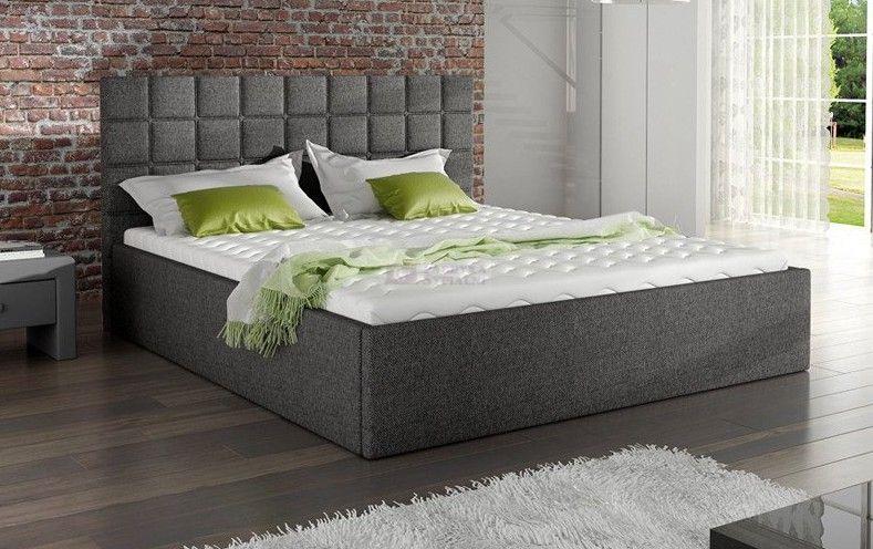 Lozko 81231 Tapicerowane Z Pojemnikiem Na Posciel M K Foam Kolo Fabryka Sypialni Home Home Decor Furniture