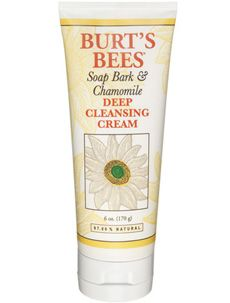 Burt's Bees Soap Bark & Chamomile Deep Cleansing Cream - Smells so clean and makes your skin feel soft and clean with over-drying or giving it that tight feeling $8.00