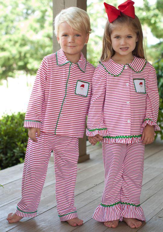 Southern Charm Boys Christmas Pajamas d8735c3da