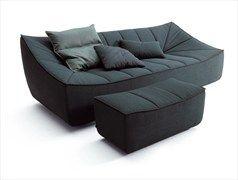 Upholstered Sofa with removable cover BAHIR | Sofa - COR