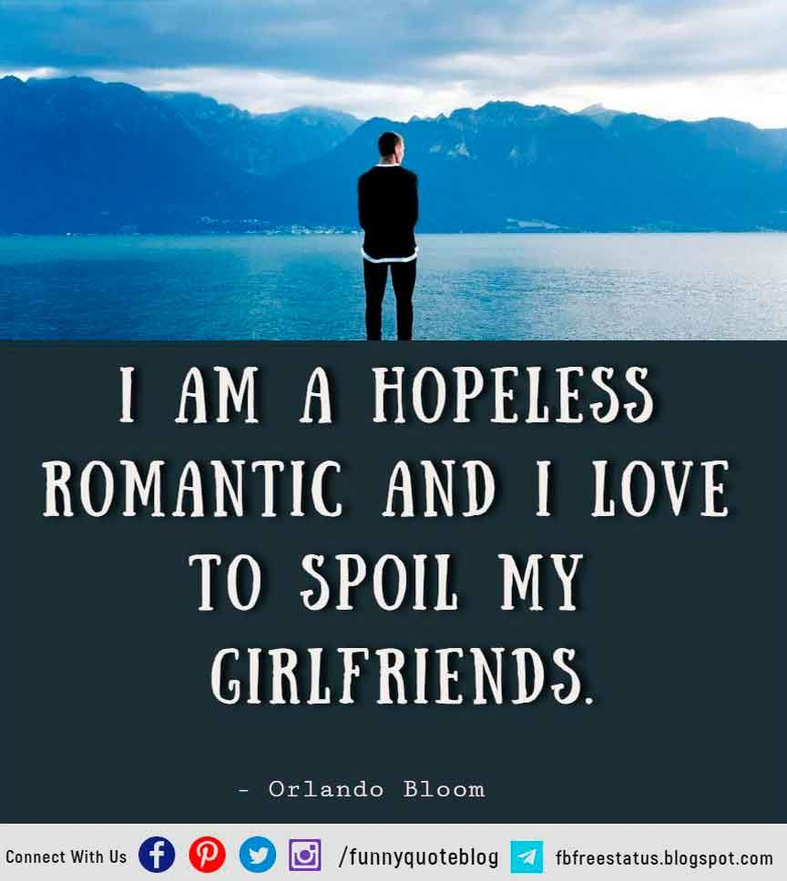 Hopeless Romantic Quotes with Images & Pictures | Hopeless