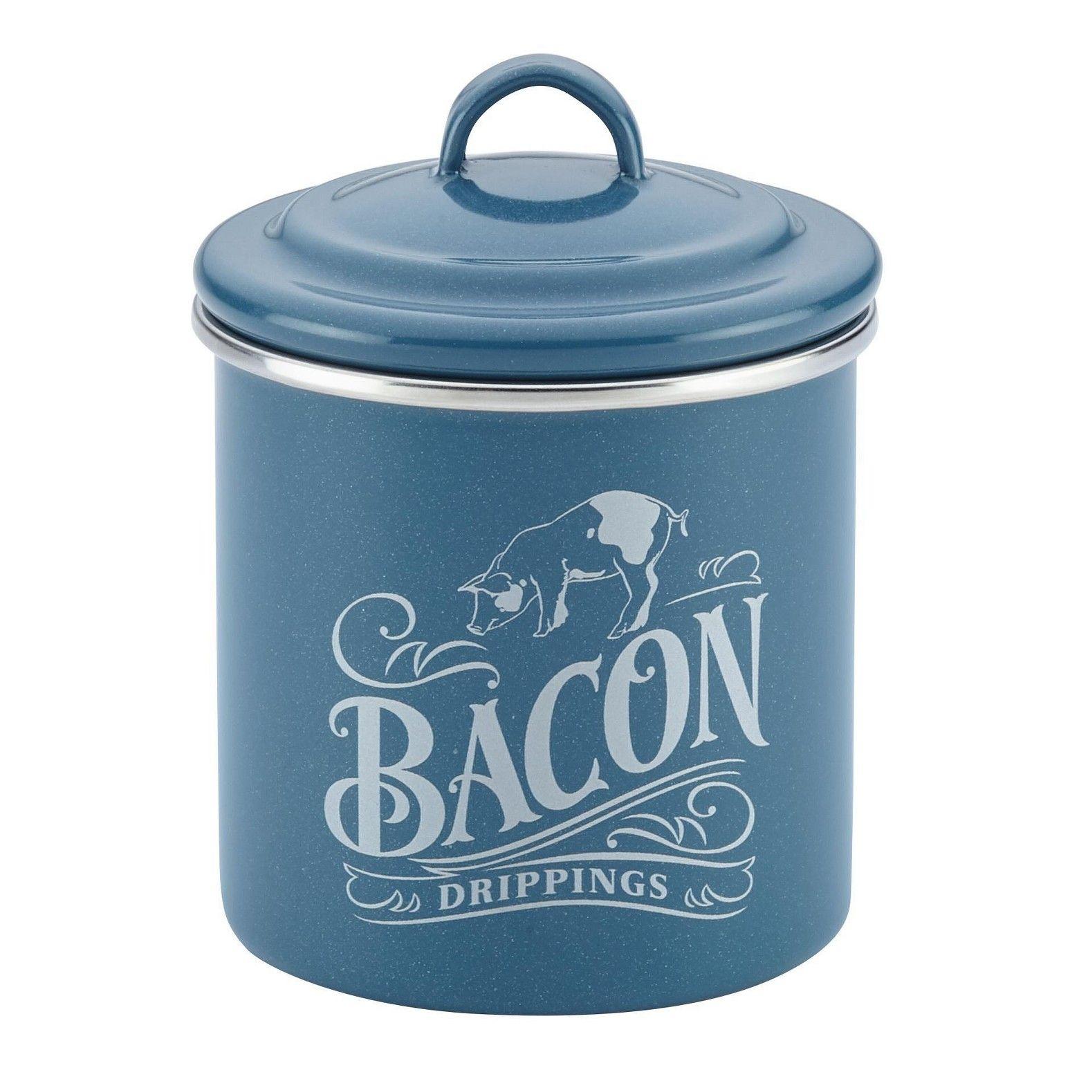 Ayesha Curry Enamel on Steel Bacon Food Storage Box | Ayesha curry ...