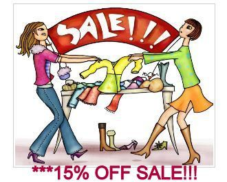 15 Percent off sale by Scentedlingerie on Etsy, $0.20