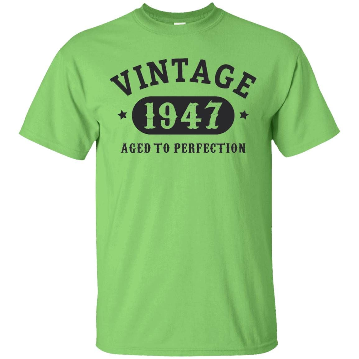 70 years old 70th birthday bday gift 1947 tshirt