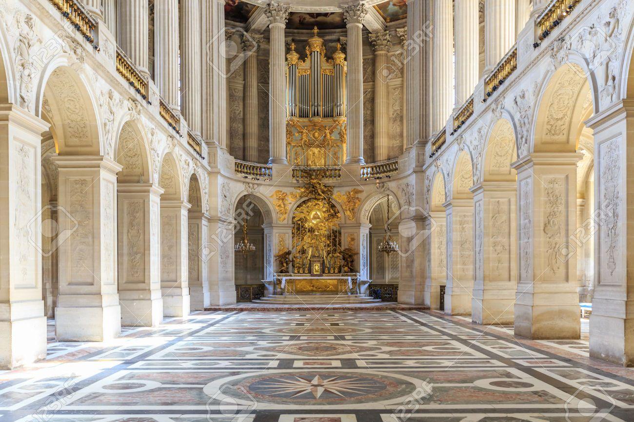 Versailles france june 20 interior chateau of versailles for Versailles paris