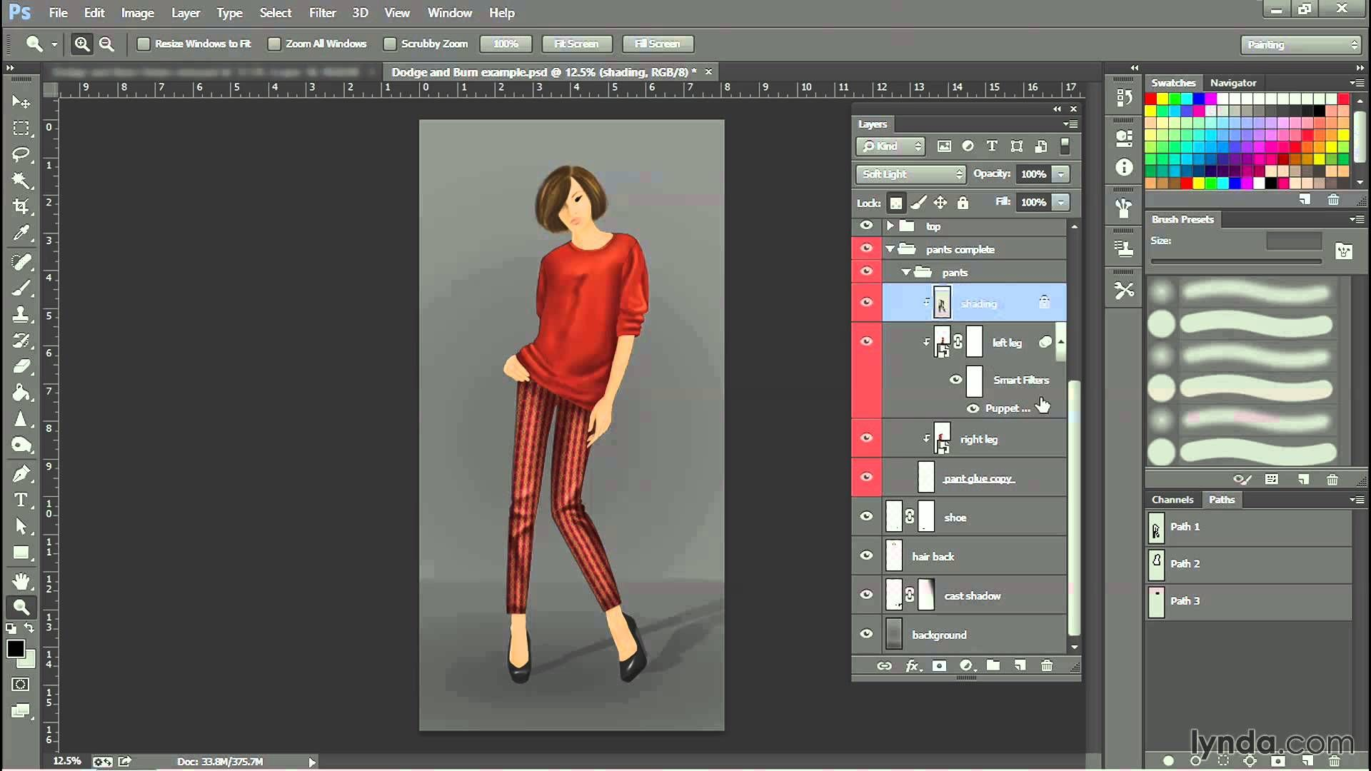 Photoshop fashion design tutorial swapping patterns lynda photoshop fashion design tutorial swapping patterns lynda baditri Images