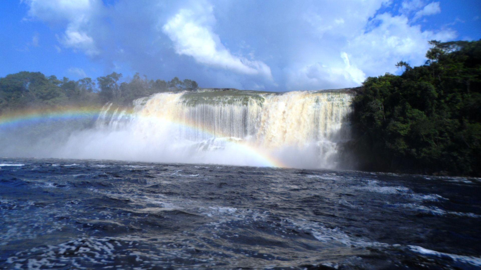 Parque Nacional Canaima. Bolívar. Venezuela