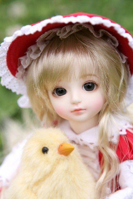 1//8 BJD Doll little Baby Resin Dolls free eyes face make up New