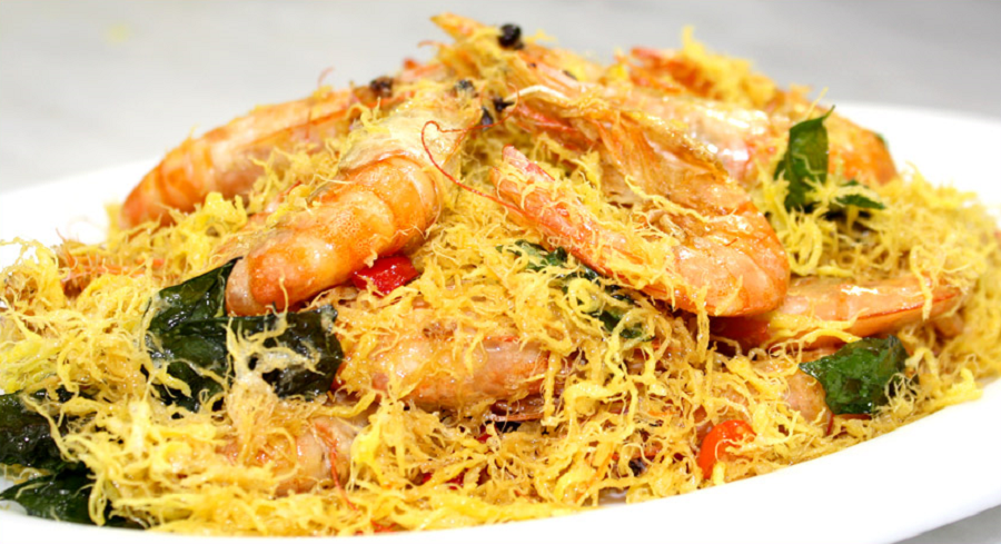 Chinese Dry Buttermilk Prawn 干奶油虾 Dry Buttermilk Prawn Recipes Butter Prawn