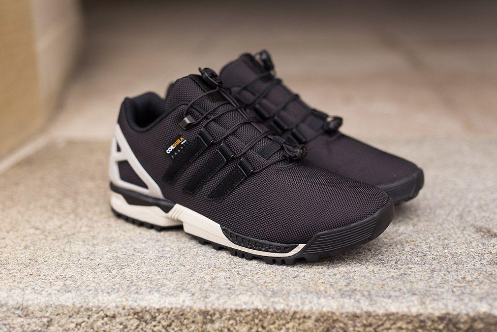Adidas Zx Flux Winter Black Grey Adidas Zx Flux Sneaker Magazine Adidas Originals Zx Flux