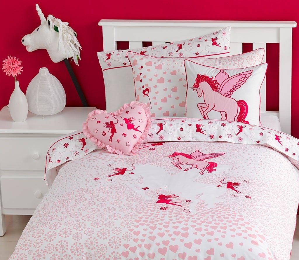 unicorn quilt cover set  unicorn bedroom decor unicorn
