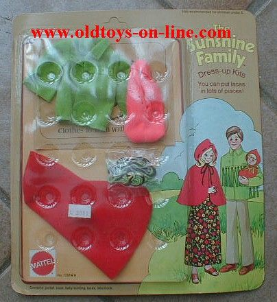 sunshine family mattel | Dress Kit laces