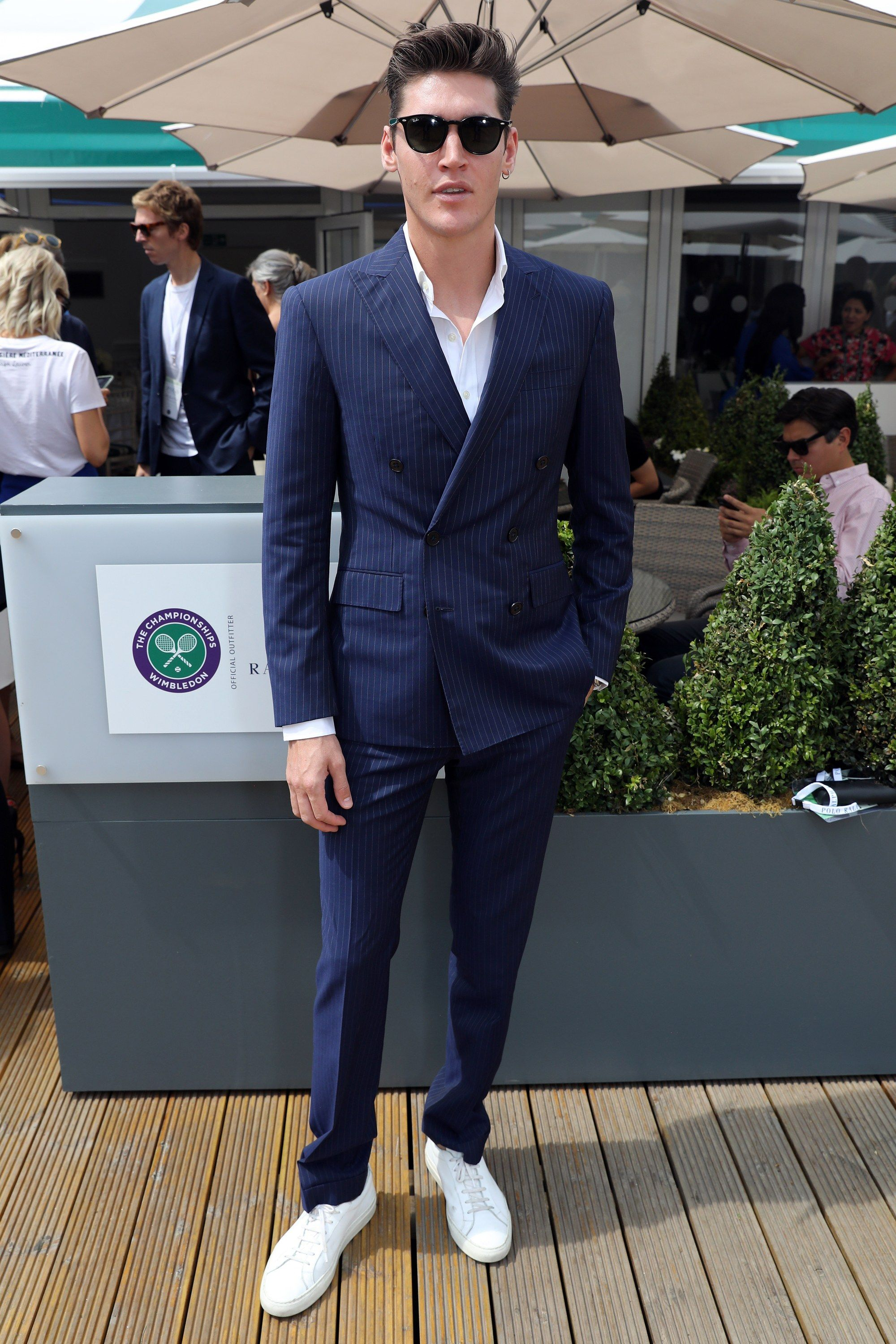 2a7fa8e73351 The Best Men's Style from Wimbledon 2018 | Sartorial Delights ...