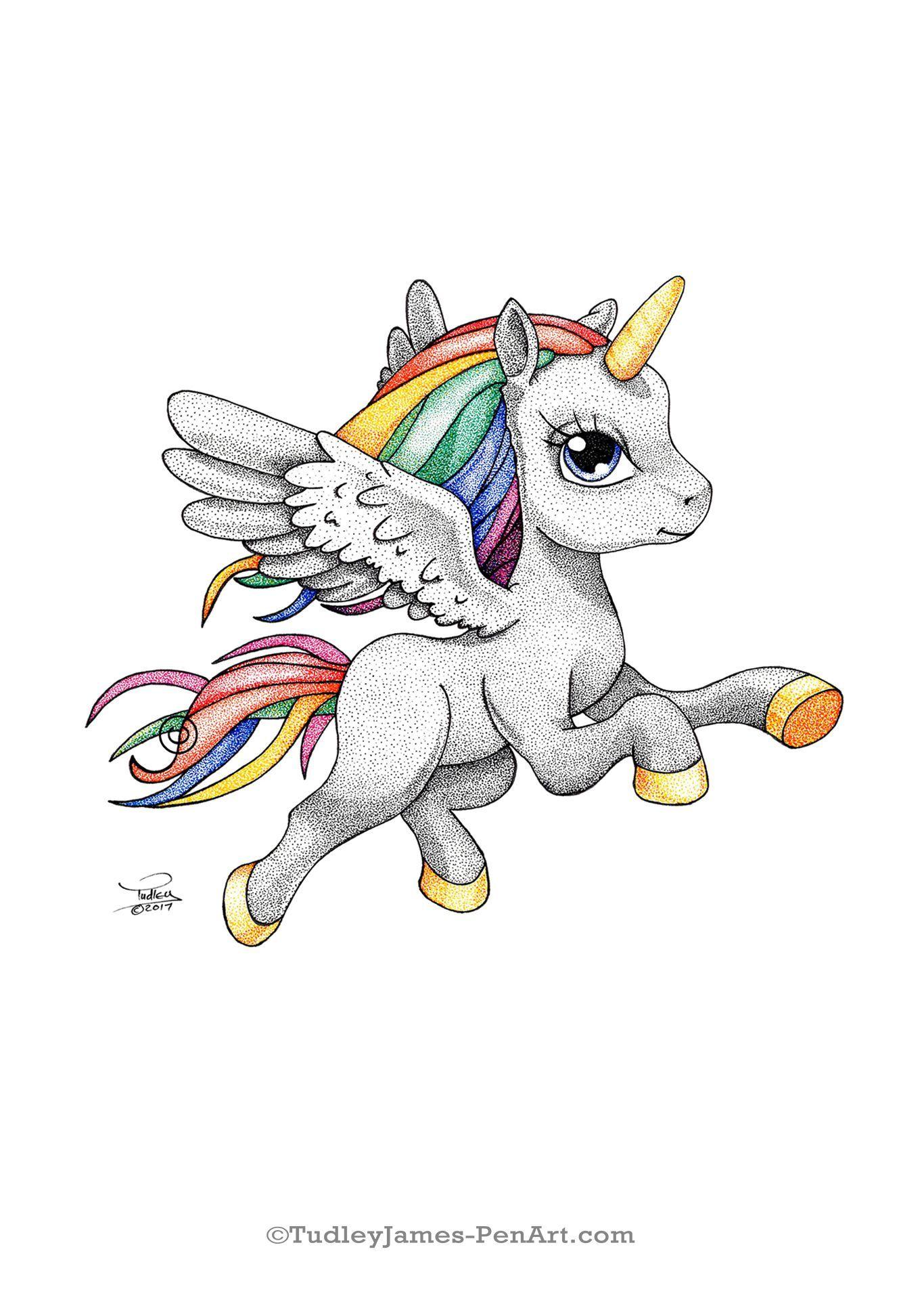 Unicorn Drawing My Little Pony Pegasus Tudleyspenart Tekenen Knutselen