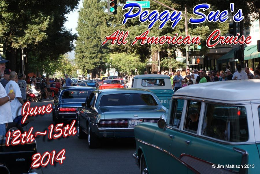 Peggy Sue's Cruise weekend. Car show and live music