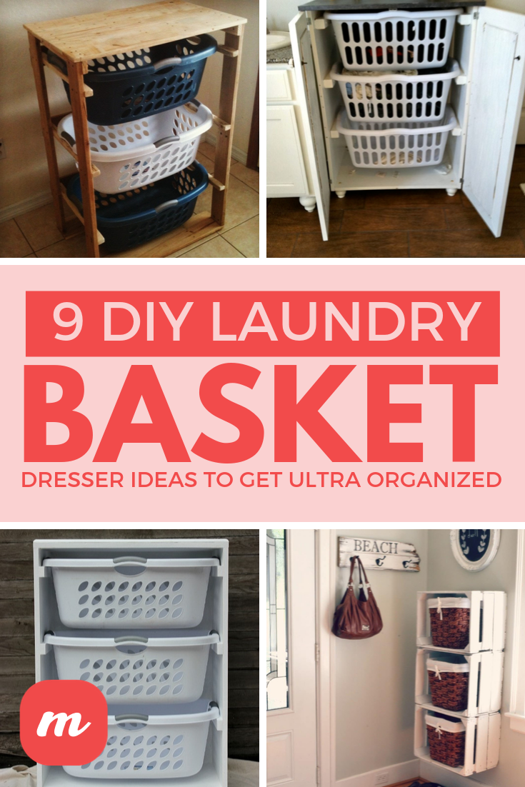 20 Great DIY Ideas For Laundry Basket Dressers That Will Get You ...