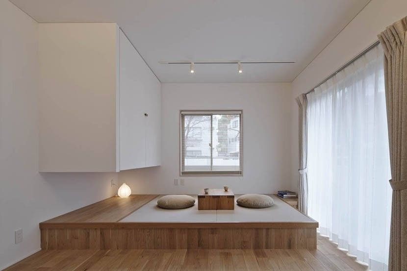 小上がり畳スペースのおしゃれなリビング事例 画像集 小上がり 畳