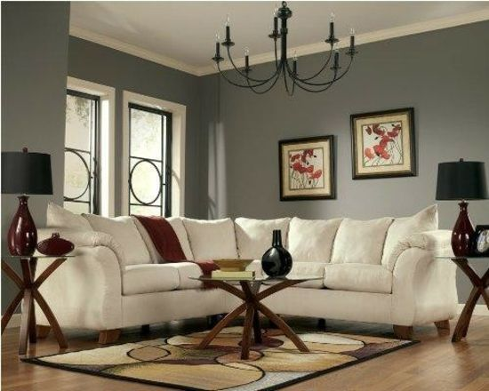 Klassisches Wohnzimmer-weiß Sofa Wohnzimmer Pinterest - wohnzimmer gelb braun