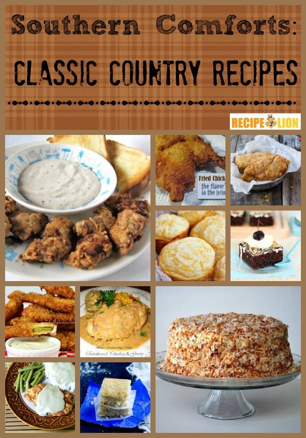 24 Southern Comforts: Classic Country Recipes | Country