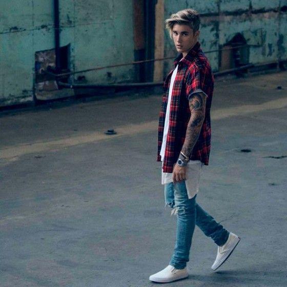 10 Looks do Artista com Justin Bieber  PraInspirar  43a4ec44db7