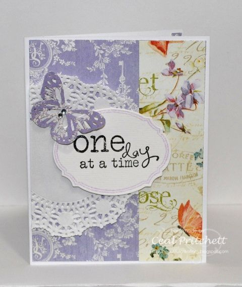 One Day At A Time by simplybeautiful - Cards and Paper Crafts at Splitcoaststampers