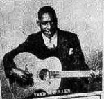 Fred McMullen recorded for ARC in New York in 1933, playing immaculate bottleneck blues guitar, whether behind his own vocals or with one or other of the Atlanta guitarists Curley Weaver and Buddy Moss. They also recorded as a trio, with Moss on harmonica. Fred maintained that he had returned to his home town of Macon, Georgia, after the session. The intensity of the song 'De Kalb Chain Gang' suggests that it was autobiographical...