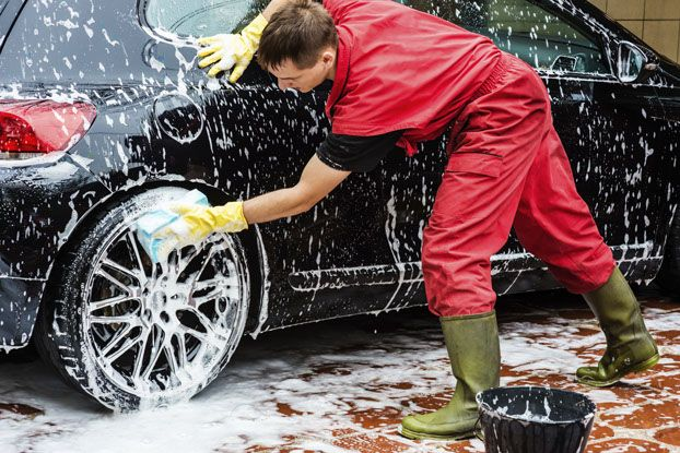 At qlook you can find your local car washing services in just true or false you can use dish washing and laundry detergents to wash the car solutioingenieria Image collections