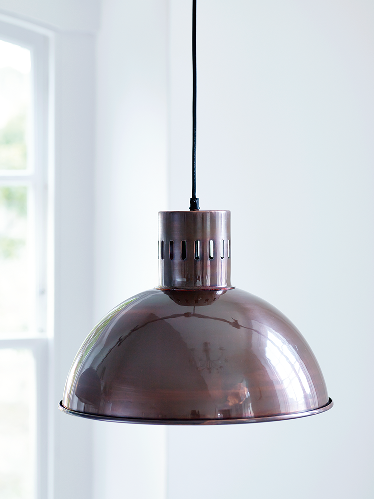 anders burnished copper metal pendant light cox cox. Black Bedroom Furniture Sets. Home Design Ideas