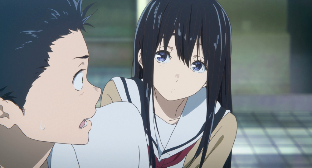 Anime Movie Where Girl Is Deaf Anime Seni Anime Seni Gambar