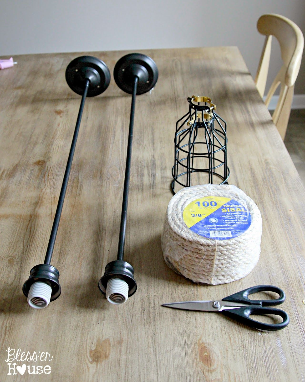 industrial kitchen light fixtures DIY Industrial Pendant Light for Under 10