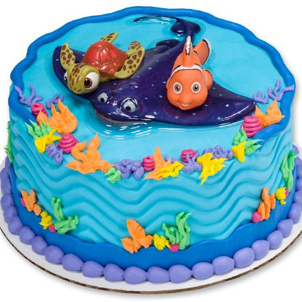 How To Make A Finding Nemo Cake Featuring