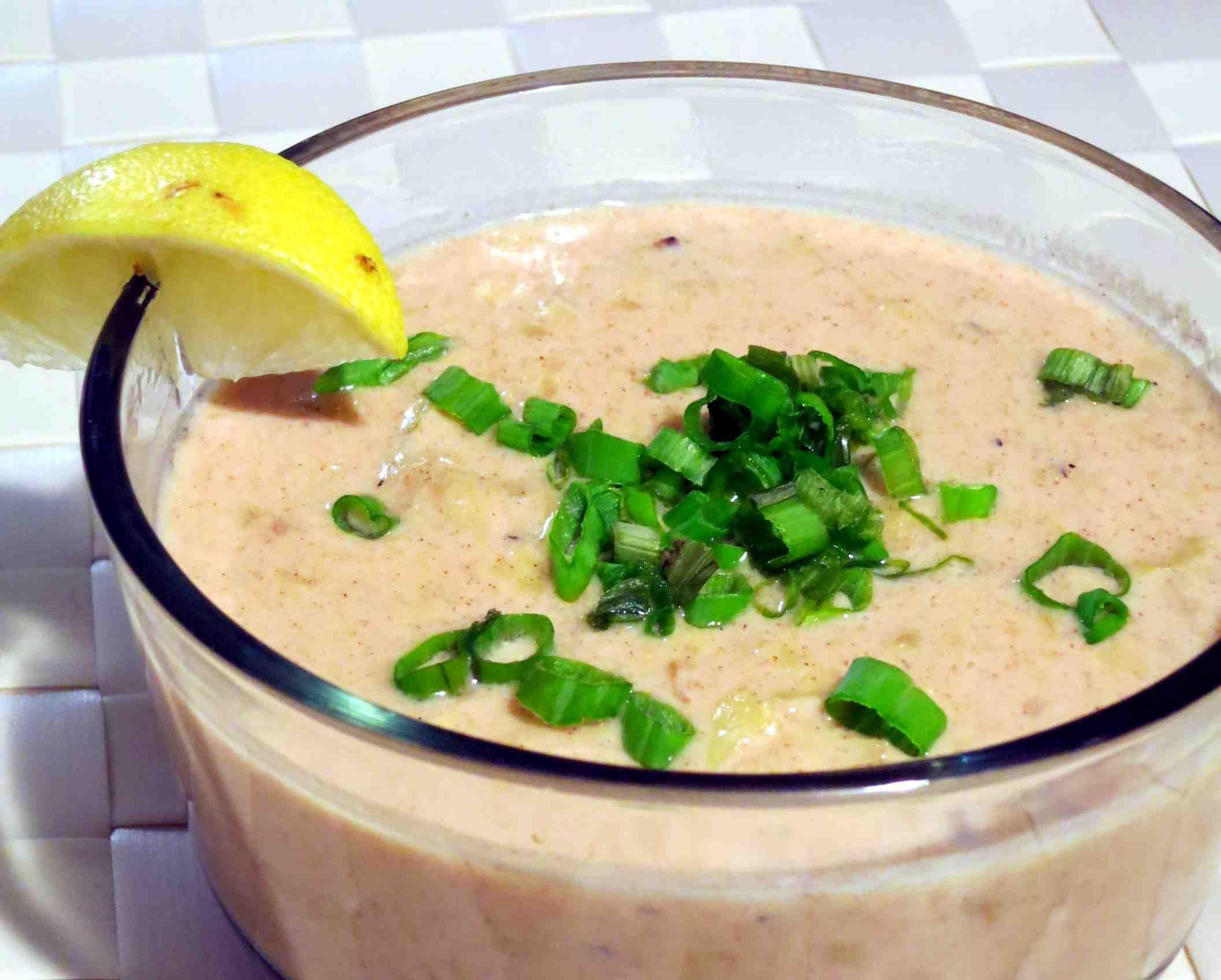 Coconut Artichoke Sauce